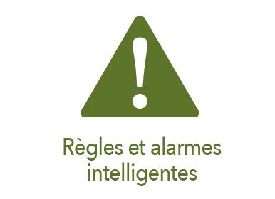 Picto règles et alarmes intelligentes