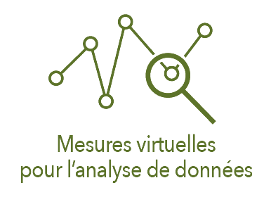 Picto de mesures virtuelles pour l'analyse de données
