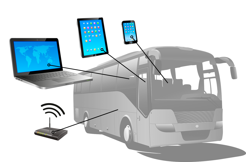 wifi expres de adw indoor : le wifi dans les cars